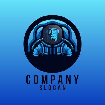Astronout logo design