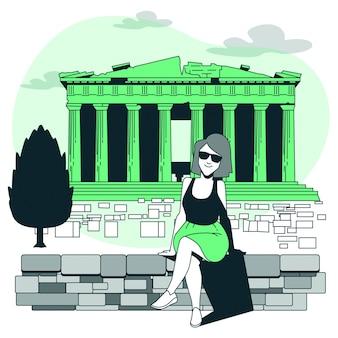 アテネの概念図