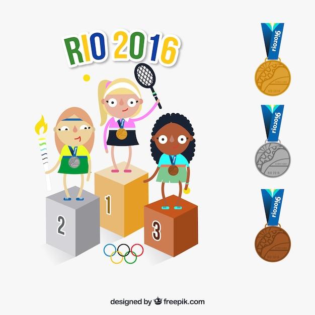 リオ2016年オリンピックでの選手