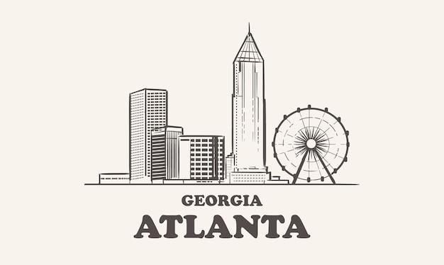 アトランタのスカイライン、ジョージア
