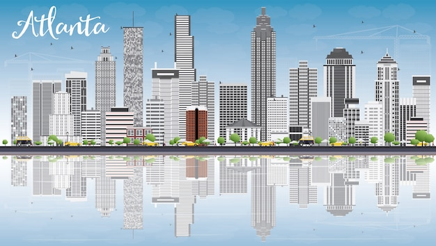 atlanta skyline images | free vectors, stock photos & psd  freepik