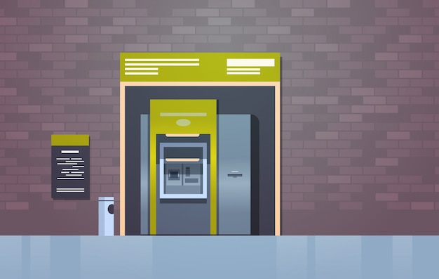 Atm cash automatic teller machine