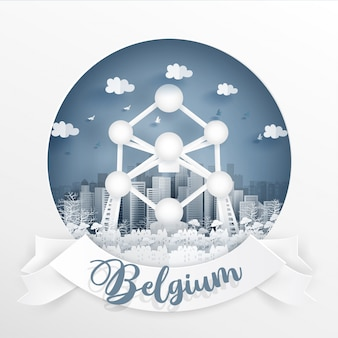 The atomium, brussel