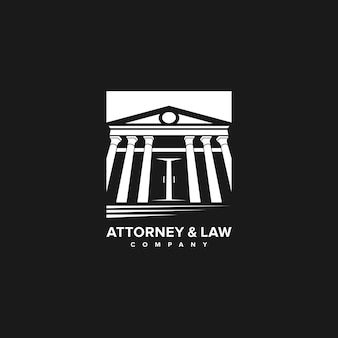 Attorney and law logo company