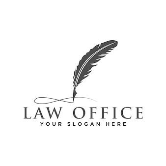 Attorney and law logo
