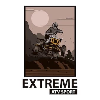 Atv extreme sport