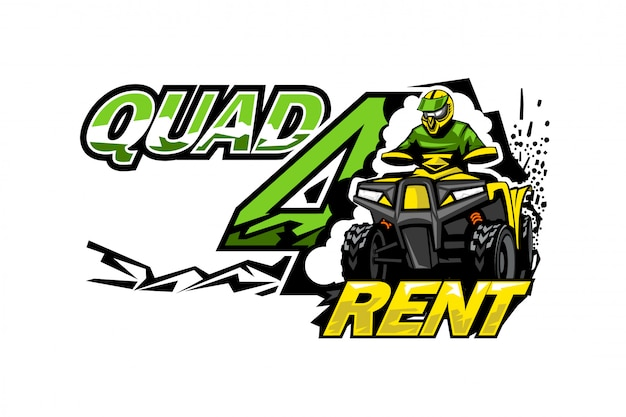Atv quad bike for rent.