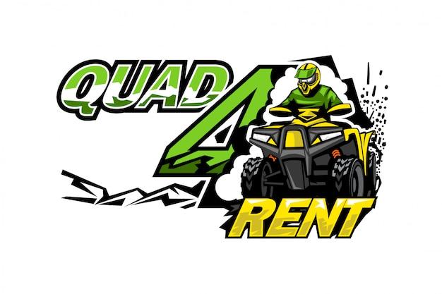 Atv quad bike for rent.