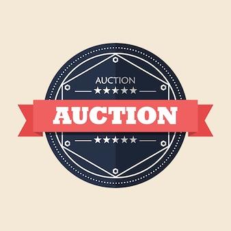 Auction badge