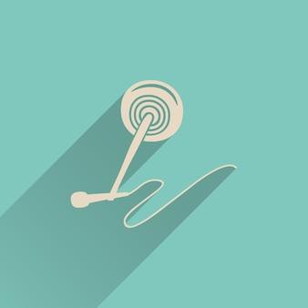 오디오 마이크 아이콘 그림, 음악 패턴입니다. 창의적이고 고급스러운 커버