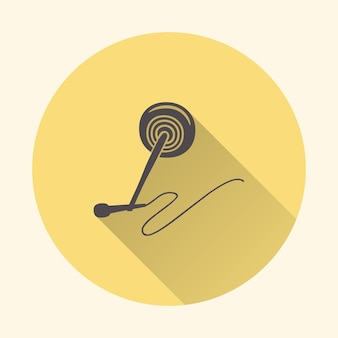 Audio microphone icon illustration, music pattern. creative and luxury cover