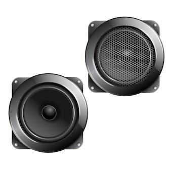 Audio speaker isolated