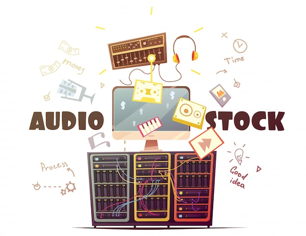 Audio stock for royalty free music sound effects download