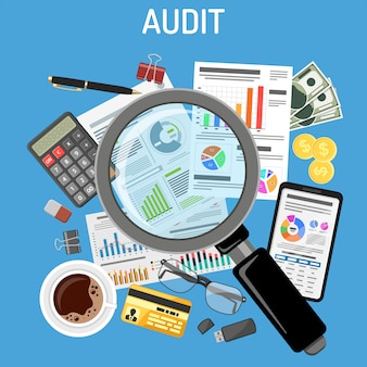 Auditing, tax process, accounting