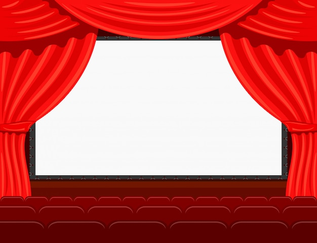 Auditorium of the the cinema