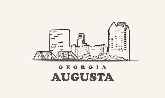 オーガスタのスカイライン、ジョージア