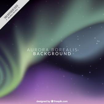 Aurora borealis фон