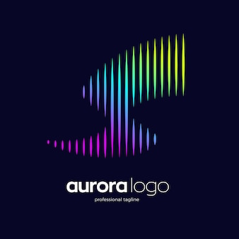 Aurora logo design