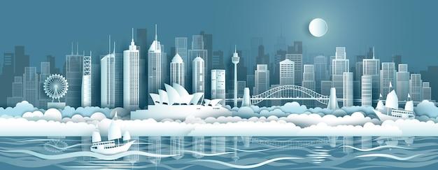 シドニーのオーストラリア建築旅行のランドマーク