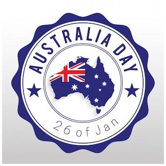 호주의 날 배경 디자인
