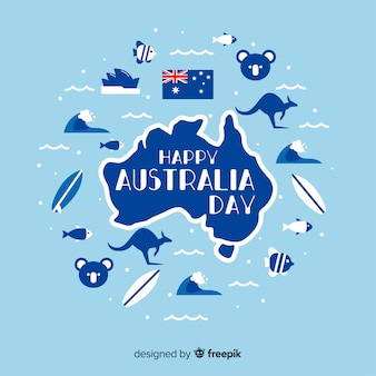 Australia day background