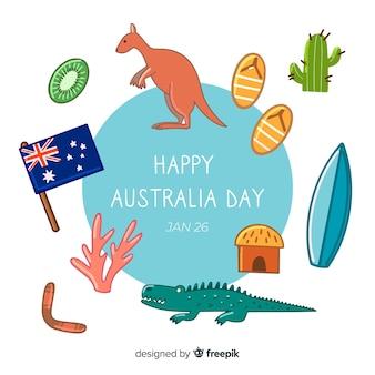 Australia day background