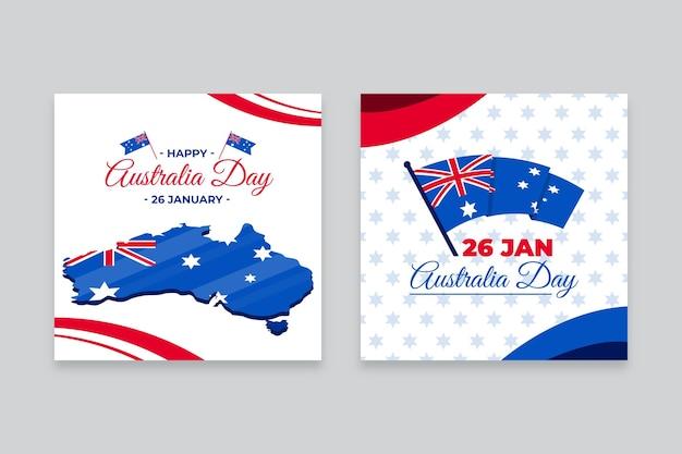 호주 데이 이벤트 인사말 카드