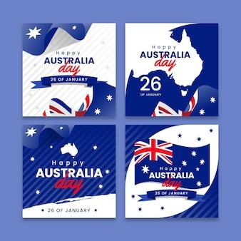 オーストラリアの日グリーティングカードコレクション