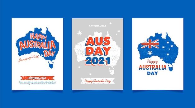 オーストラリアの日のグリーティングカード