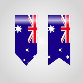 Bandiera della bandiera australia