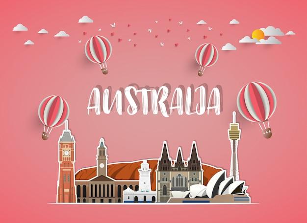 Австралия ориентир глобальные путешествия и путешествие справочный документ.