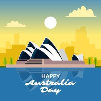Национальный день австралии пейзаж сиднея