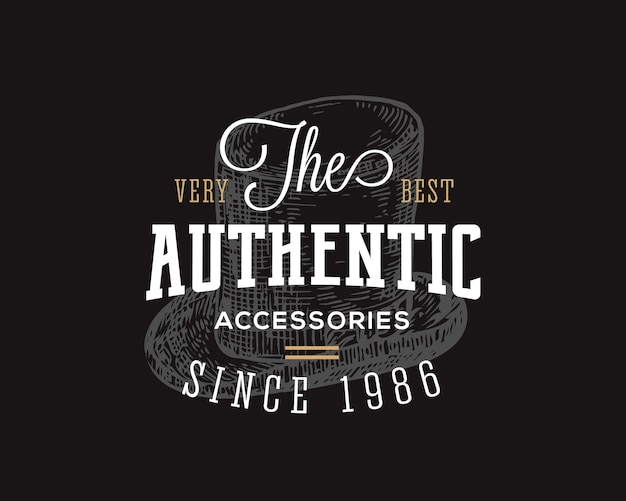 Authentic accessories store.