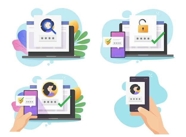 Аутентичная безопасная проверка пароля с помощью двухфакторной идентификации и идентификации по лицу на мобильном телефоне