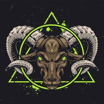Authentic zodiac sign concept