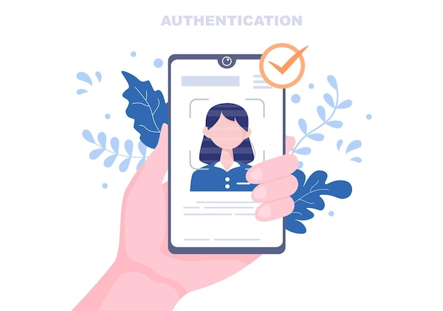 Authentication security flat