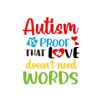 Аутизм цитаты надписи svg вектор