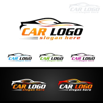 Auto car logo for sport cars