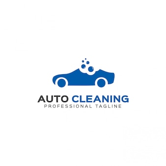 Auto cleaning logo template