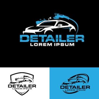 자동 디테일링 로고 디자인 컨셉