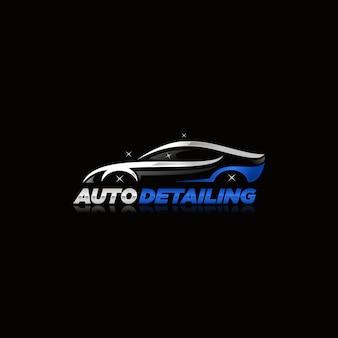 Auto detailing logo vector