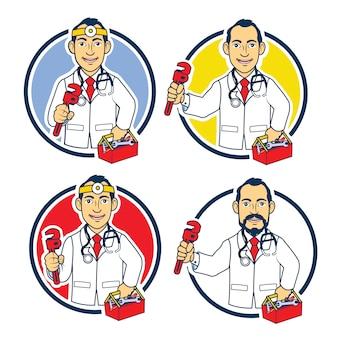 Auto doctor logo