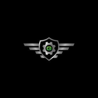 Auto protect logo