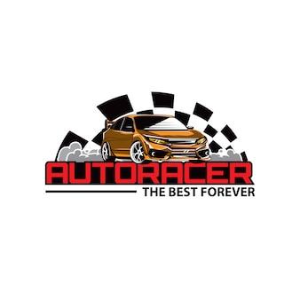Auto racer car