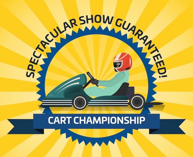 Auto racing spectacular show