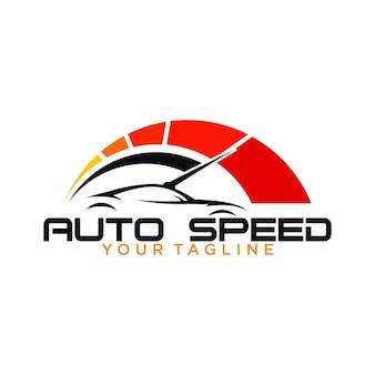 Auto speed logo