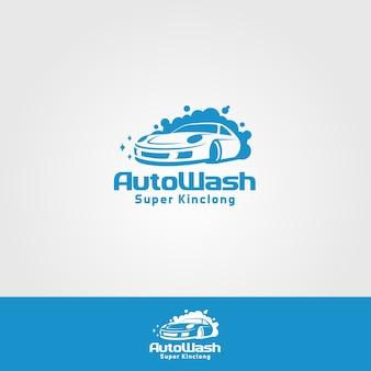 Auto wash company logo
