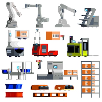 Automated warehouse equipment