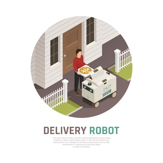 Automatic food delivery