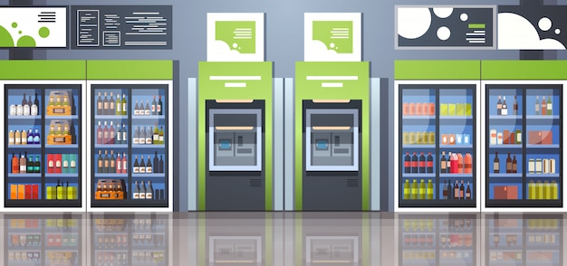 Automatic teller machine payment terminal